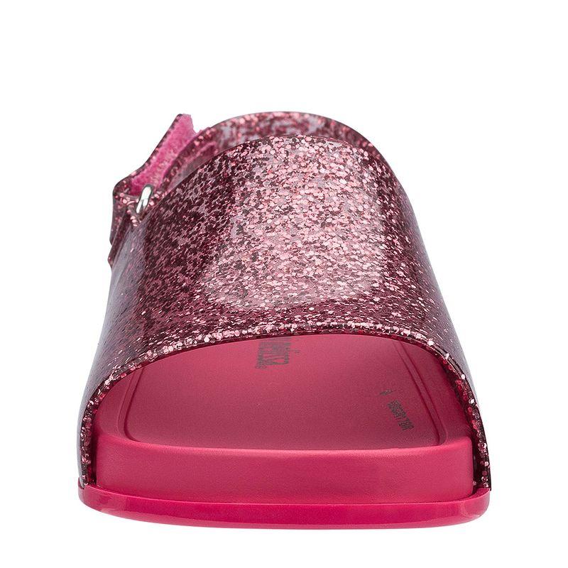 31997-Mini-Melissa-Beach-Slide-Sandal-RosaGlitter-Frente