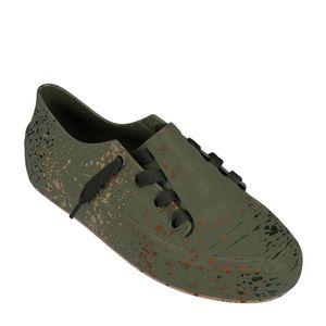 Melissa Ulitsa Sneaker Splash Verde Marrom
