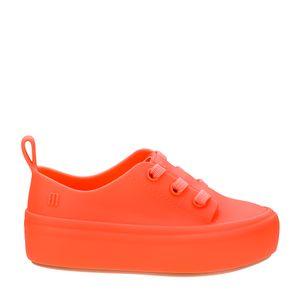 Mini Melissa Ulitsa Sneaker Laranja Coral Fluor