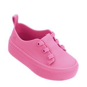 Mini Melissa Ulitsa Sneaker Rosa Branco