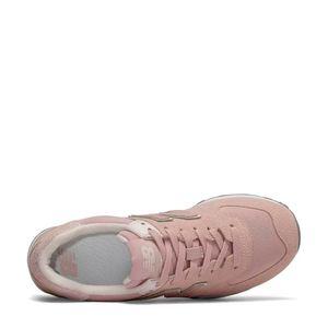 Tênis New Balance 574 Rosa Branco Cinza