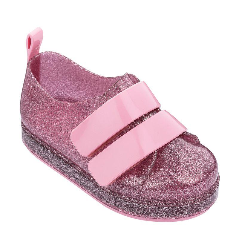 32696-Mini-Melissa-Go-Sneaker-RosaGlitterPrata-Variacao03