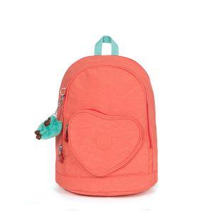Mini Mochila Kipling Heart Backpack Peachy Pink