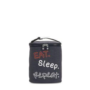 Porta Mamadeira Kipling Baby Bottle Case Night Grey