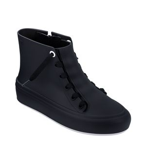 Melissa Ulitsa Sneaker High Preto Fosco Branco
