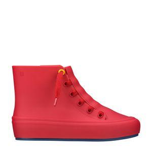 Melissa Ulitsa Sneaker High Vermelho Fosco Azul