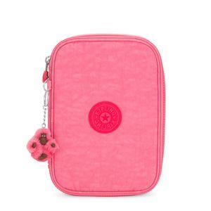 Estojo Kipling 100 Pens Fiesta Pink