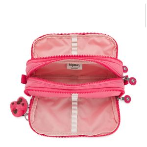 Estojo Kipling Gitroy Fiesta Pink