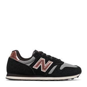 Tênis New Balance 373 Preto Branco Rosa