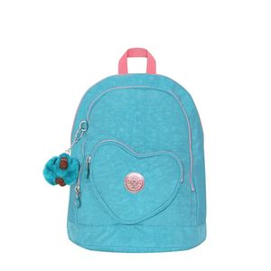 Mini Mochila Kipling Heart Backpack Turquoise Sea