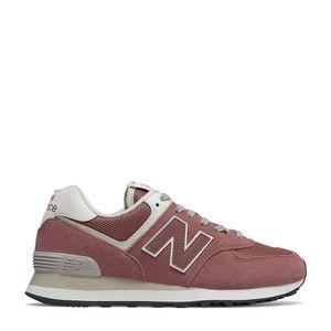 Tênis New Balance 574 Rosa Branco