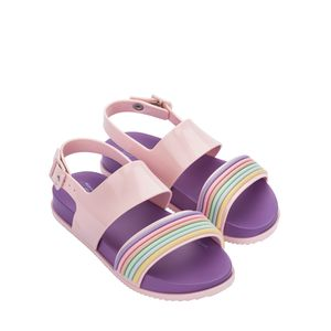 Melissa Mel Cosmic Sandal II Lilas Rosa