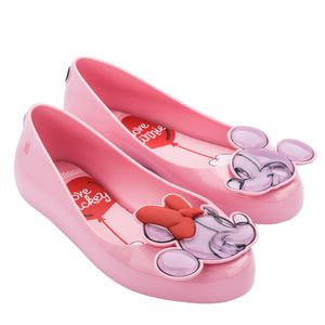 Mini Melissa Sweet Love + Mickey And Friends Infantil Rosa Candy