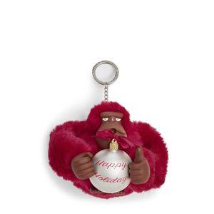 Chaveiro Macaco Kipling Happy Holiday Radiant