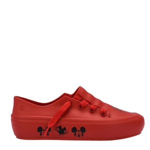 Melissa Ulitsa Sneaker + Mickey And Friends Vermelho Preto
