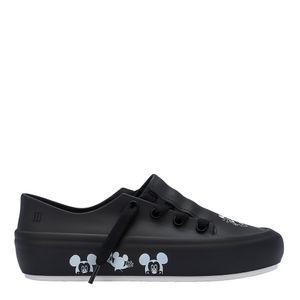 Melissa Ulitsa Sneaker + Mickey And Friends Preto Branco