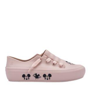 Melissa Ulitsa Sneaker + Mickey And Friends Rosa Preto
