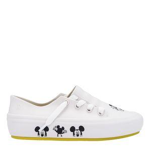 Melissa Ulitsa Sneaker + Mickey And Friends Branco Preto Amarelo