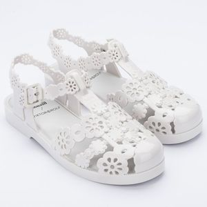 Melissa Possession Lace + Viktor And Rolf Bege Leitoso