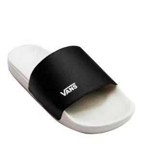 Chinelo Slide Vans Black True White