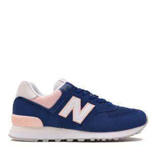 Tênis New Balance 574 Azul Rosa