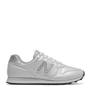 Tênis New Balance 373 Branco Cintilante Prata