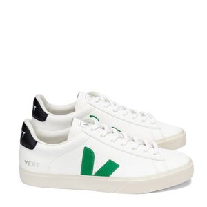 Tênis Vert Campo Chromefree Extra White Emeraude Black