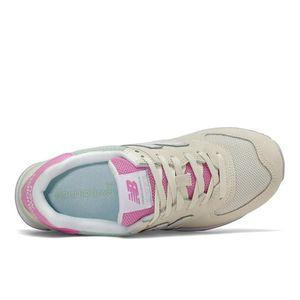 Tênis New Balance 574 Bege Verde Rosa