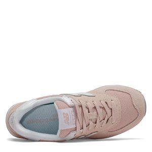 Tênis New Balance 574 Rosa Cinza