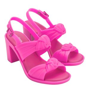 Melissa Velvet Heel Rosa Barbie II