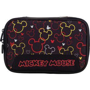 Estojo Xeryus Box Mickey College Preto Colorido