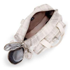 Bolsa Maternidade Kipling Camama Soft Plaid