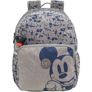 Mochila Xeryus Mickey Trendy Cinza
