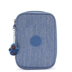 Estojo Kipling 100 Pens Denim Blue