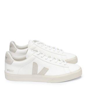 Tênis Vert Campo Chromefree Extra White Natural Suede