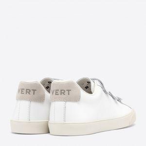 Tênis Vert 3-Lock Couro Extra White