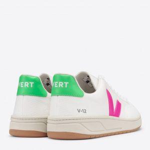 Tênis Vert V-12 B-Mesh White Sari Absinthe