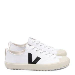 Tênis Vert Nova Canvas White Black