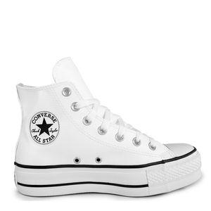 Tênis Chuck Taylor All Star Lift Branco Preto Branco