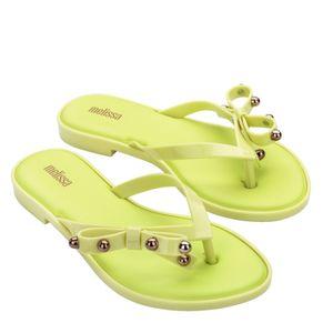 Melissa Flip Flop Slim II Amarelo Amaro