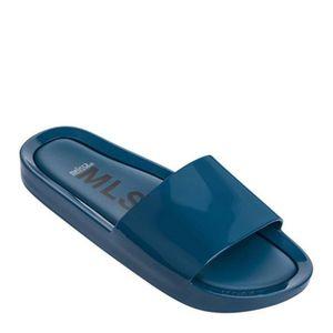 Melissa Beach Slide Azul Chic