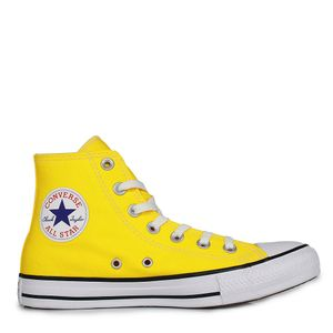 Tênis Converse Chuck Taylor All Star Seasonal HI Amarelo Preto