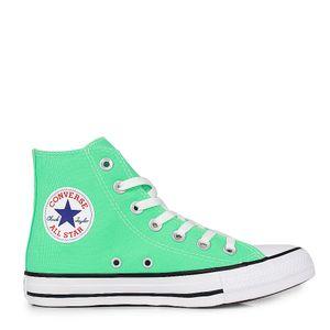 Tênis Converse Chuck Taylor All Star Verde Brilhante Preto Branco