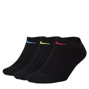Meia Nike Performance Cushion Sem Cano 3 pares 34 ao 38