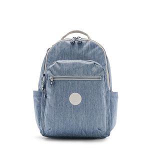 Mochila Kipling Seoul Azul