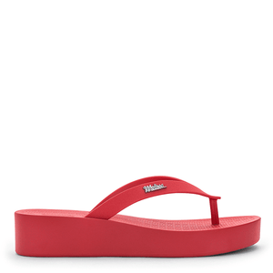 Melissa Sun Venice Platform Vermelho