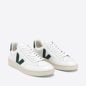 Tênis Vert V-12 Couro Extra White Cyprus