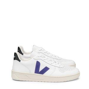 Tênis Vert V-10 Couro Extra White Purple Black