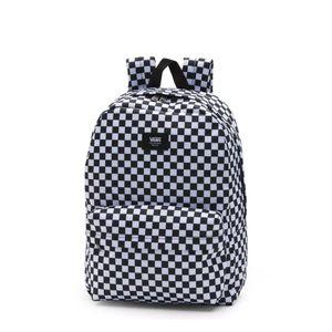 Mochila Vans Old Skool Check Backpack Black White
