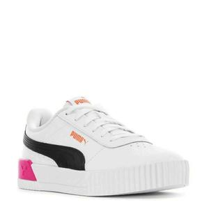 Tênis Puma Carina L Bdp White Glowing Pink